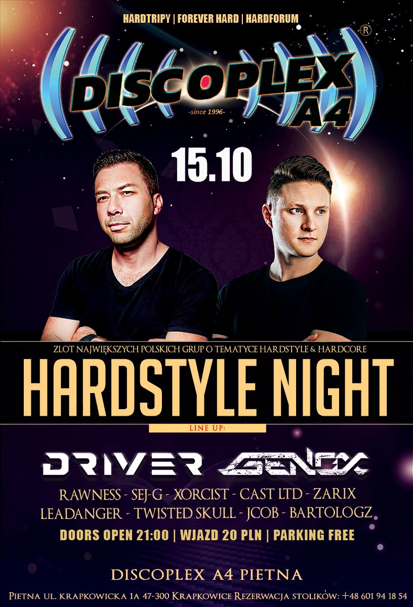 Hardstyle Night @ Discoplex A4